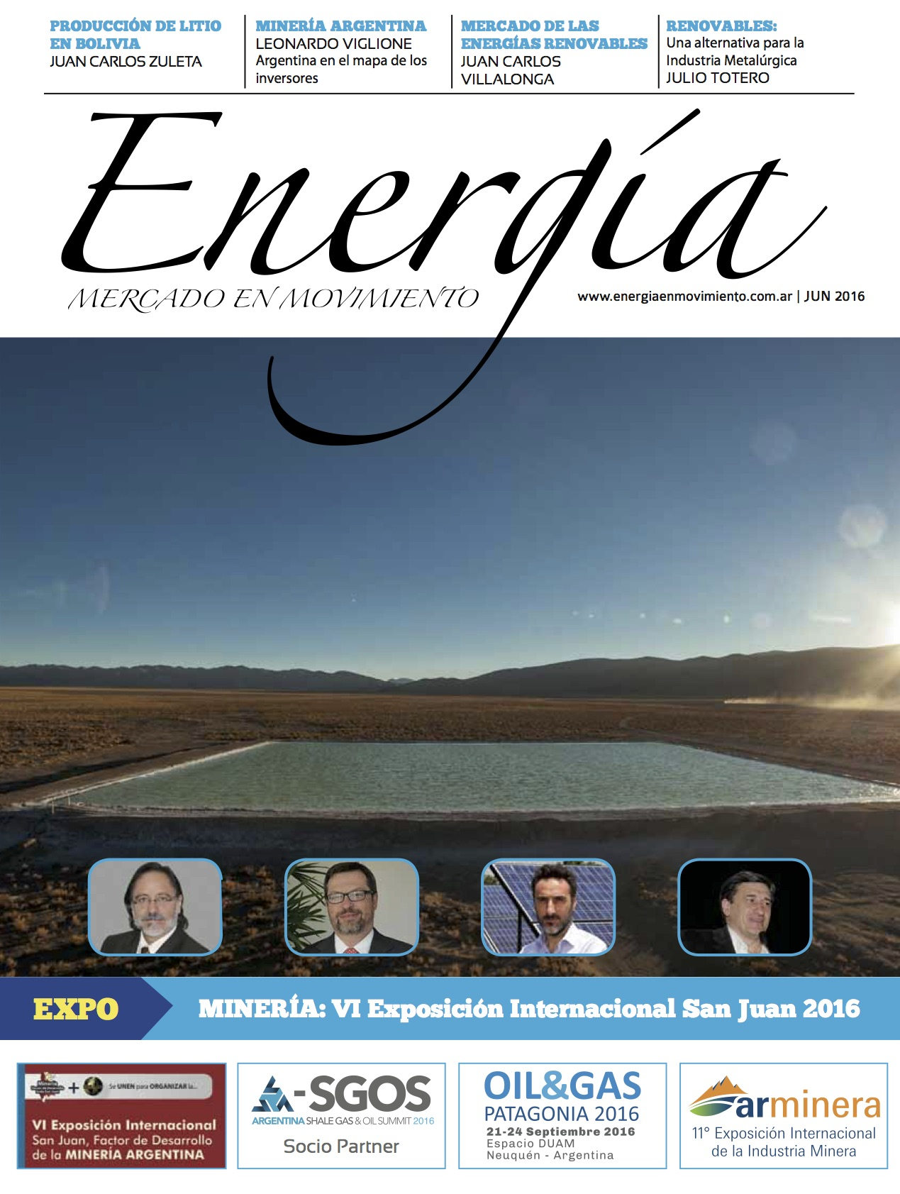 Revista Energia en Movimiento Junio 2016